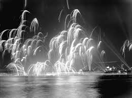 Ern's Picture of Fireworks – Celebration 1946 War's End!