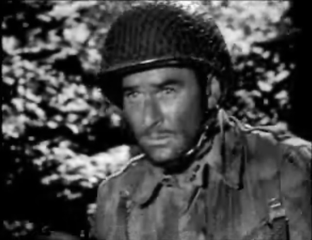 Errol Flynn in the very early film Operation Burma